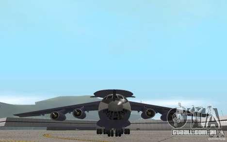 Berijew A-50 Mainstay para GTA San Andreas vista interior