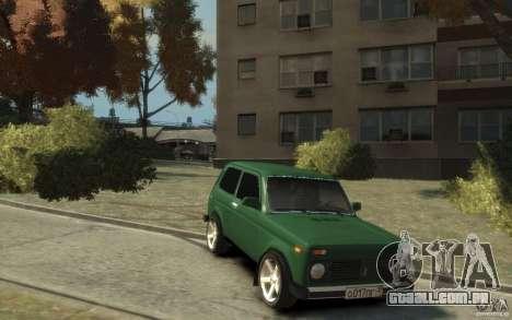 VAZ 21214 Niva para GTA 4 vista de volta