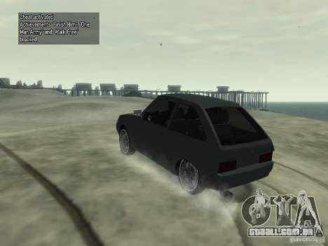 ZAZ Tavria 1102 para GTA 4 esquerda vista