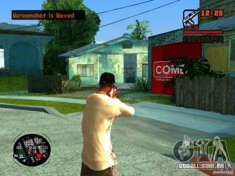 GTA IV Animation in San Andreas para GTA San Andreas oitavo tela