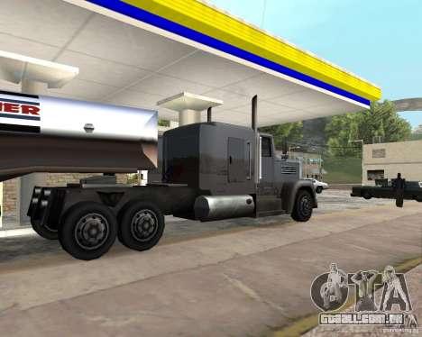 Packer Truck para GTA San Andreas esquerda vista