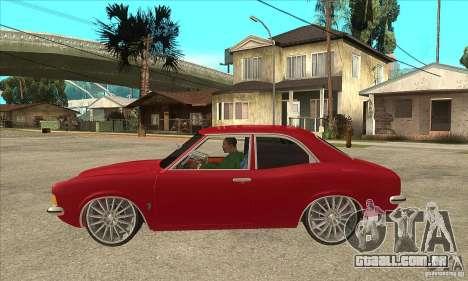 Ford Taunus Coupe para GTA San Andreas esquerda vista