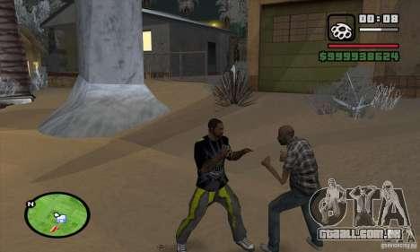 Monster energy suit pack para GTA San Andreas sexta tela