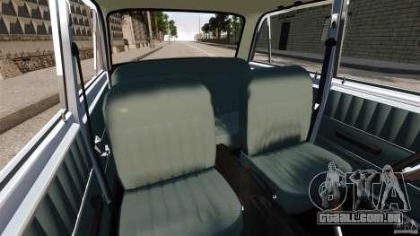 Estoque Vaz-2101 para GTA 4 vista interior