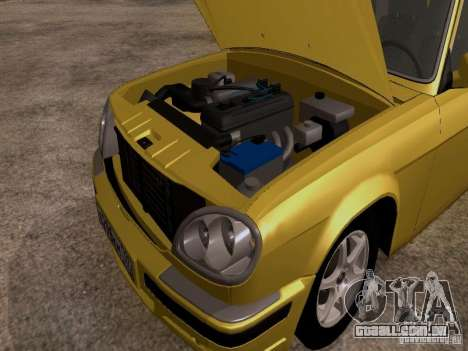 GAZ Volga 31107 para GTA San Andreas vista traseira