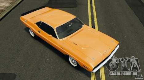 Dodge Challenger RT 1970 v2.0 para GTA 4