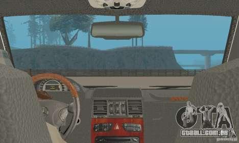 Mercedes-Benz G500 Zailer 2004 para GTA San Andreas vista traseira