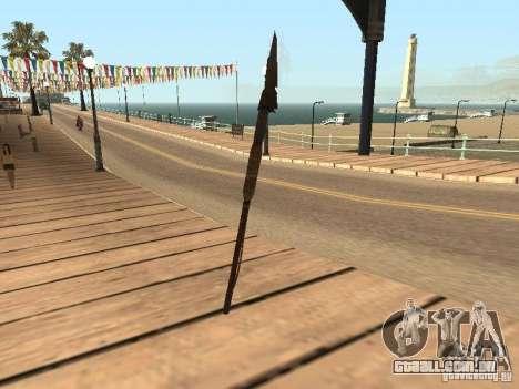 Lança para GTA San Andreas segunda tela