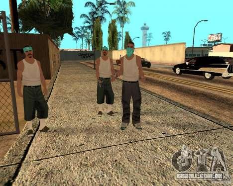 Beta Peds para GTA San Andreas sétima tela