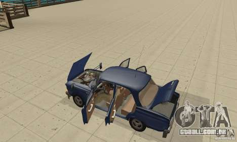 412 Moskvich com tuning para GTA San Andreas vista traseira