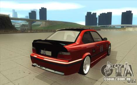 BMW Fan Drift Bolidas para vista lateral GTA San Andreas