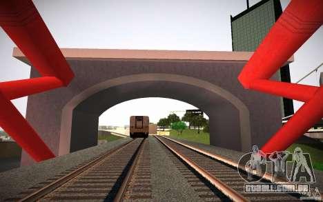HD Red Bridge para GTA San Andreas terceira tela