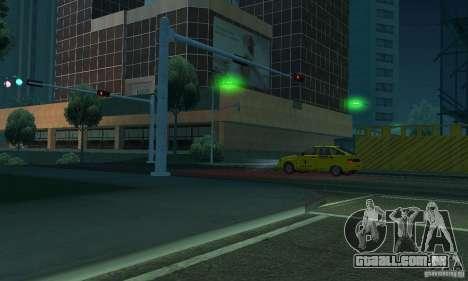 Luzes verdes para GTA San Andreas sexta tela