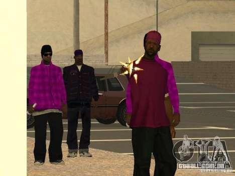 Novas skins Ballas para GTA San Andreas terceira tela
