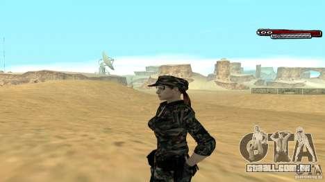 Soldado HD para GTA San Andreas segunda tela