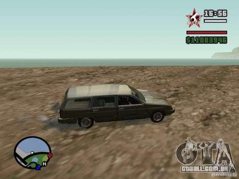 ENBSeries para GForce 5200 FX v 2.0 para GTA San Andreas segunda tela