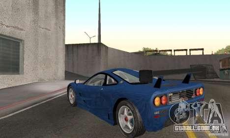 Mclaren F1 GTR (v1.0.0) para GTA San Andreas