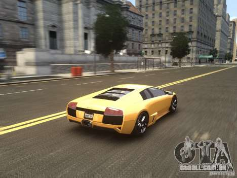 Lamborghini Murcielago LP640 2007 para GTA 4 vista lateral