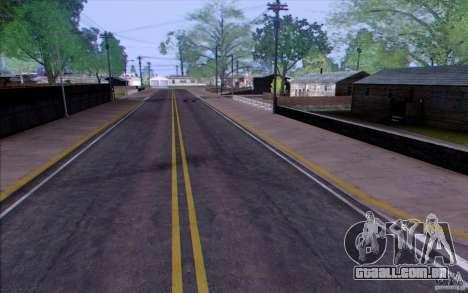 Zona rural HQ para GTA San Andreas terceira tela