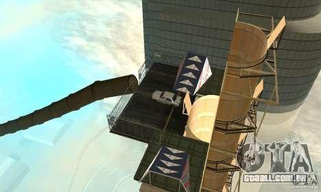Airport Stunt para GTA San Andreas sexta tela