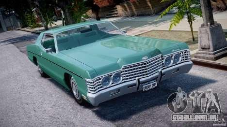 Mercury Monterey 2DR 1972 para GTA 4