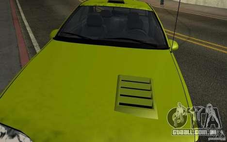 Ford Thunderbird 1993 para GTA San Andreas vista direita