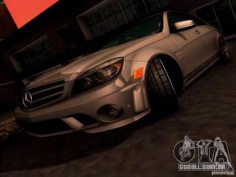 Mercedes-Benz C36 AMG para as rodas de GTA San Andreas