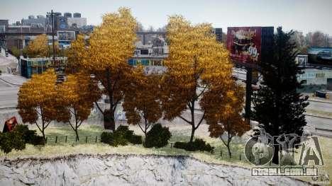 Realistic trees 1.2 para GTA 4 por diante tela