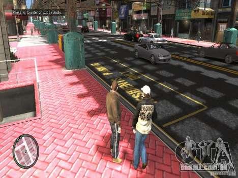 Road Textures (Pink Pavement version) para GTA 4