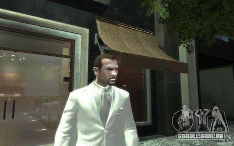 Grande traje cinza-branco para GTA 4 terceira tela