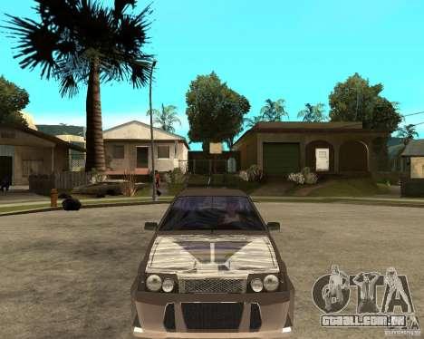LiquiMoly Vaz 21093 para GTA San Andreas vista traseira