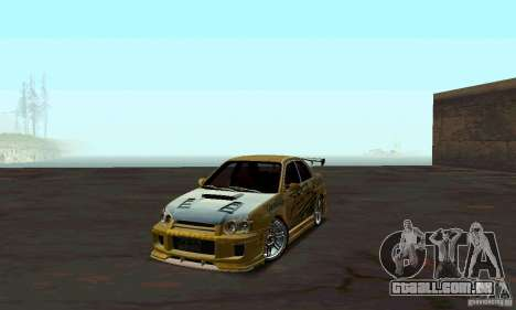 NFS Most Wanted - Paradise para GTA San Andreas segunda tela