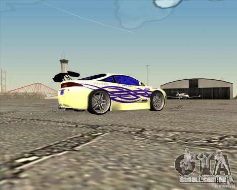 Mitsubishi Eclipse street tuning para GTA San Andreas esquerda vista