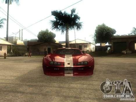 Axis Pegasus para GTA San Andreas vista direita