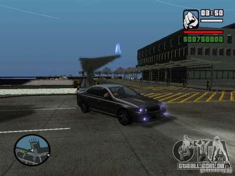 Ford Falcon XR8 para GTA San Andreas vista direita
