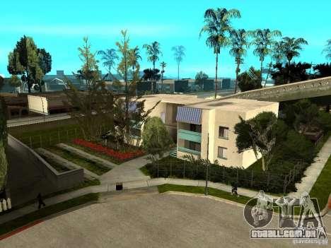 New Grove Street TADO edition para GTA San Andreas oitavo tela