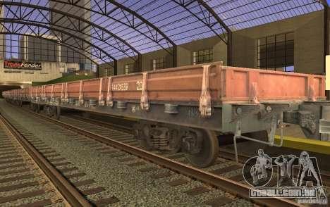 FERROVIÁRIA mod para GTA San Andreas décimo tela