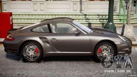 Porsche 911 Turbo para GTA 4 vista superior