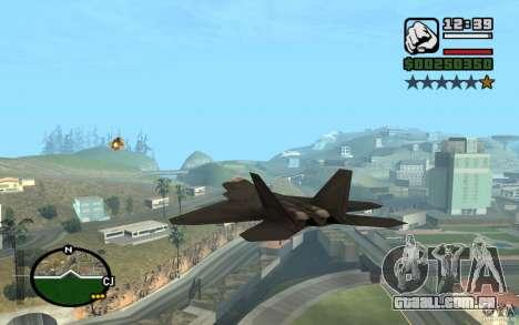 Hydra, mod Panzer para GTA San Andreas por diante tela