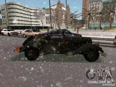 Auto sabotagem jogo para GTA San Andreas vista direita