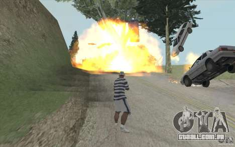 Onda de fogo para GTA San Andreas