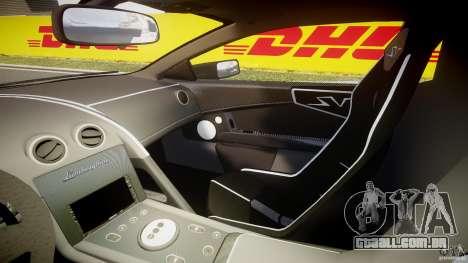 Lamborghini Murcielago LP670-4 SuperVeloce para GTA 4 vista interior