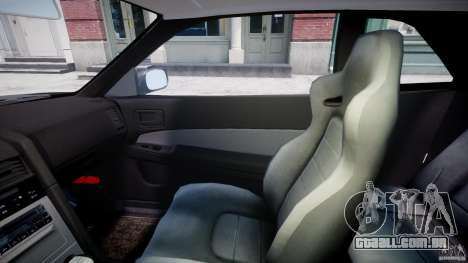 Nissan Skyline GT-R 34 V-Spec para GTA 4 vista interior