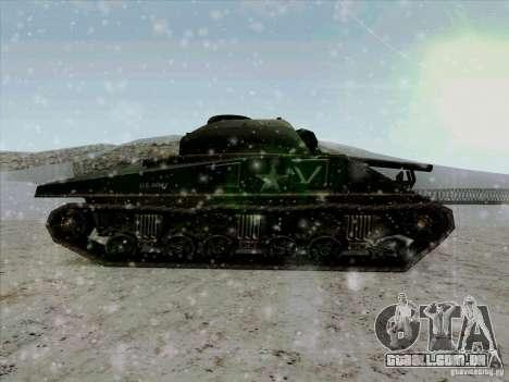 Sherman para GTA San Andreas esquerda vista