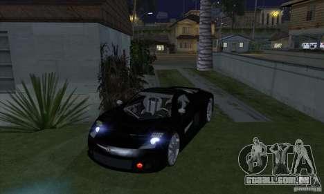Xenon luzes (faróis de Xenon) para GTA San Andreas por diante tela