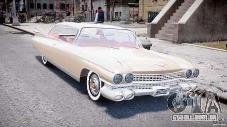 Cadillac Eldorado 1959 (Lowered) para GTA 4 vista de volta