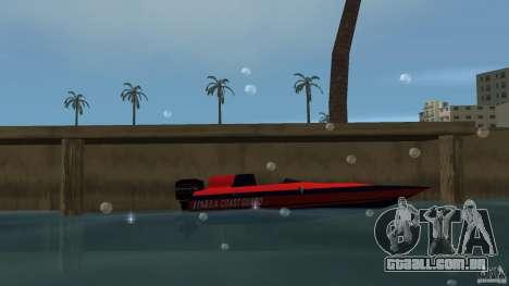 San Andreas Coast Guard para GTA Vice City deixou vista