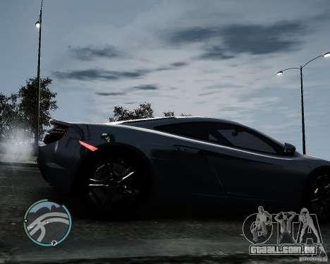 McLaren MP4-12C [EPM] 2011 para GTA 4 vista direita