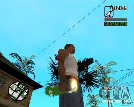 RiCkys Molotov Cocktail para GTA San Andreas segunda tela