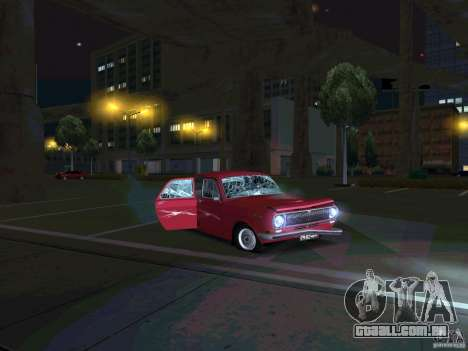 GÁS 24 CR v2 para GTA San Andreas vista traseira